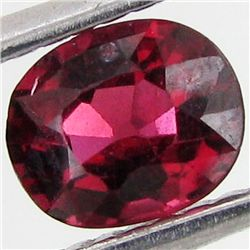 0.65ct Natural Intense Red Spinel Oval (GEM-29322E)