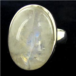 53.47twc Moonstone Sterling Ring (JEW-2783)