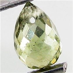 0.62ct Green Tourmaline Briolette (GEM-40608)