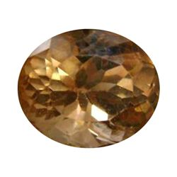 11.00ct Oval Champaigne Color Topaz Afghan (GEM-26329)
