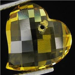 6.50ct Top Yellow Beryl Heart (GEM-30819)