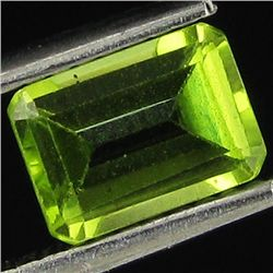 0.9ct AAA Green Peridot Octagon (GEM-33429A)