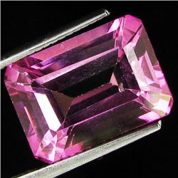 9.26ct Brazil Pink Topaz Octagon Cut (GEM-26969I)