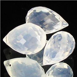 9.1ct Ice Quartz Briolette Parcel (GEM-35562)