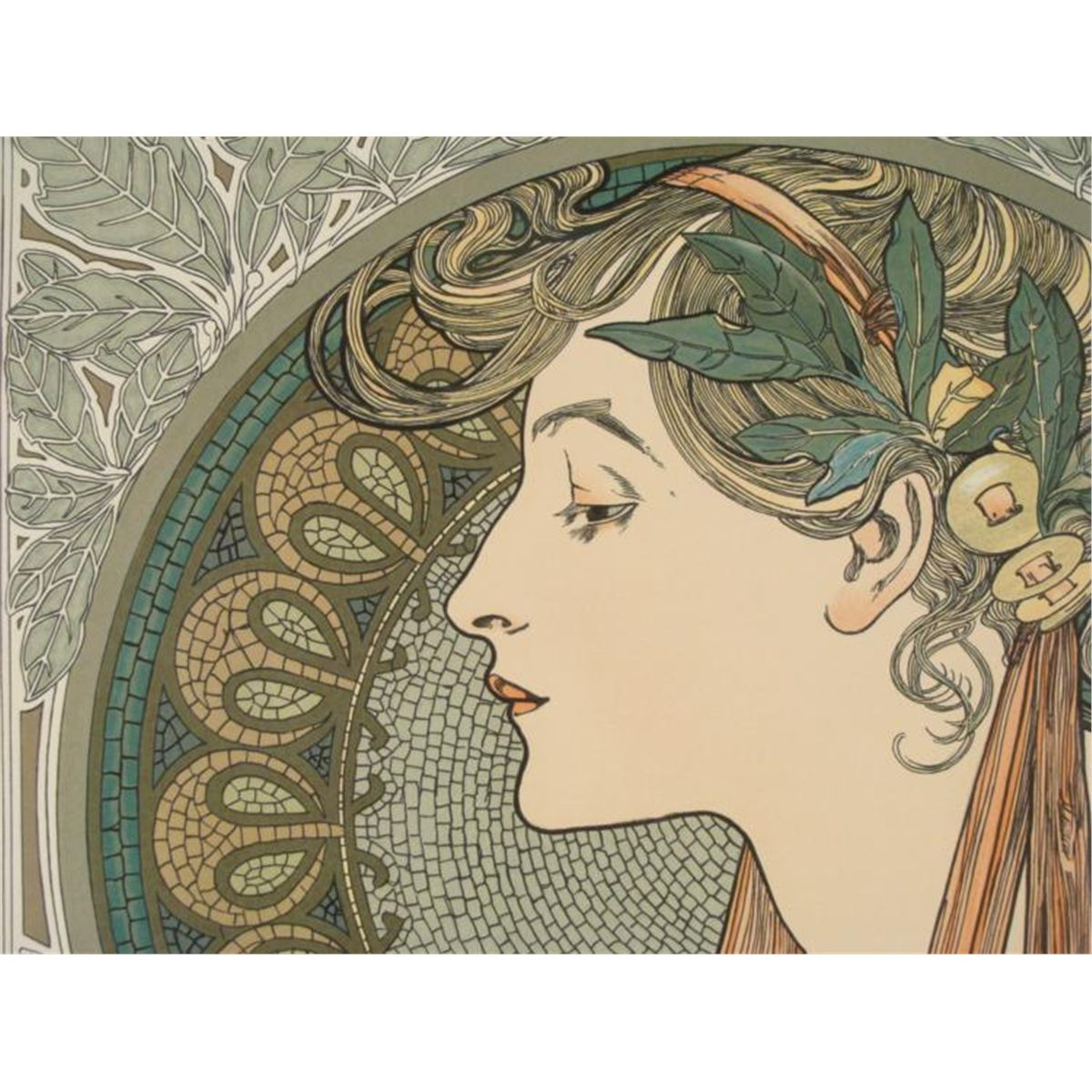 """art nouveau alphonse mucha Jonathan canning, curator of the hyde collection talks about the art of alphonse mucha with members of the director's circle friday night the exhibition, """"alphonse mucha: master of art."""