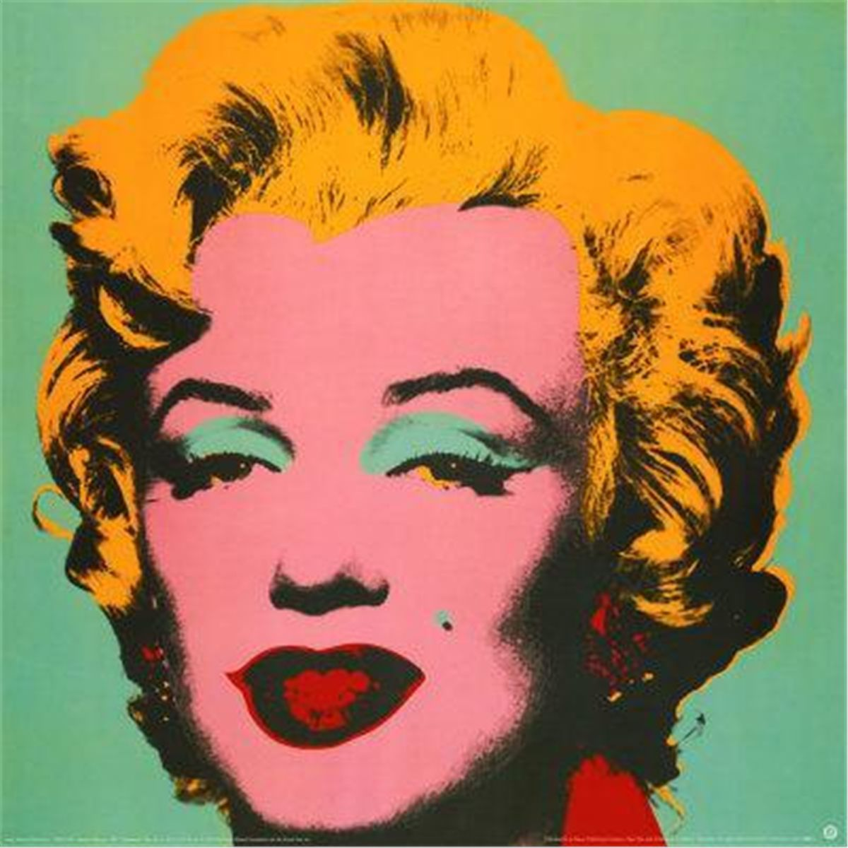 3 different color andy warhol marilyn monroe art prints. Black Bedroom Furniture Sets. Home Design Ideas