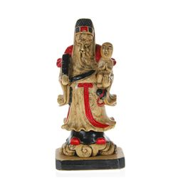 Hand Carved Marble Chinese Wise Man (CLB-173)