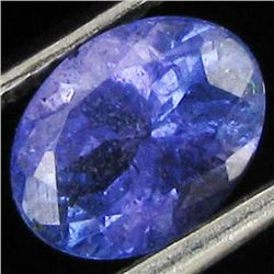 1.28ct Top Color Tanzanite Oval (GEM-38893)