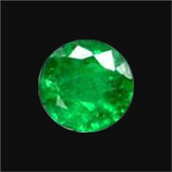 3mm Colombian Emerald Round Diamond Cut (GMR-1039)