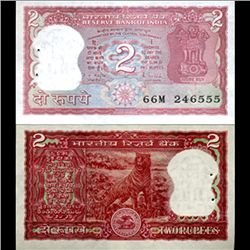 1985 India 2 Rupee Crisp Uncirculated (CUR-06203)