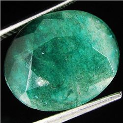 11.71cr Oval Cut Colombian Emerald (GEM-8946A)