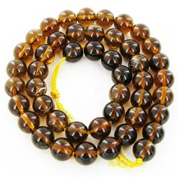 255twc Natural Citrine Bead Strand 16  (JEW-3001)