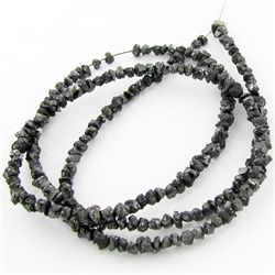 20.35twc Raw Black Diamond Strand (JEW-3443A)