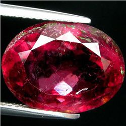 9.52ct   Oval Cut Red Pink Cuprian Tourmaline (GEM-35275)