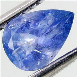 0.77ct Top Color Tanzanite Pear (GEM-38917)