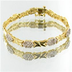 39twc Diamond14k Gold Tennis Bracelet (JEW-2557)