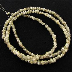 18.5twc Raw Champagne Diamond Strand (JEW-3444C)