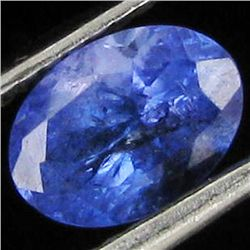 0.88ct Top Color Tanzanite Oval (GEM-38858)