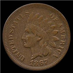 1867 Indian Cent Higher Grade (COI-7470)