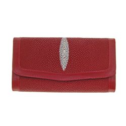 Ladies Stingray Hide Clutch Purse/Wallet (ACT-079)
