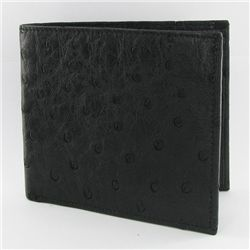 Mens Ostrich Hide Skin Wallet (ACT-256)
