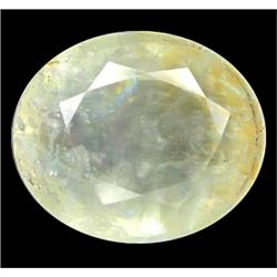 13.05ct Oval Cut Light Blue Green Aquamarine (GEM-10187)