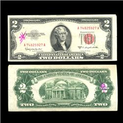 1953C $2 US Note Nice Condition SCARCE (COI-4712)