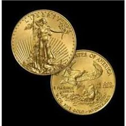 1 oz Gold Eagle Bullion - Random Date