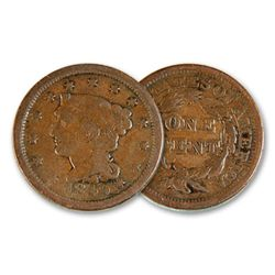 19th Century large Cent- Good Grade- Random Date