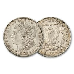 1878 7 TF FINE Grade Morgan