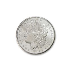 1881 O Uncirculated Morgan Silver Dollar