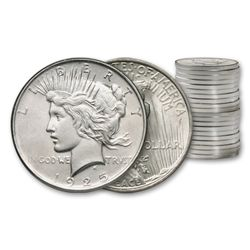 (20) Uncirculated Peace Silver Dollars