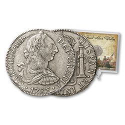 First US DOLLAR! Colonial SIlver Dollar- REALE