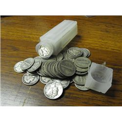 Roll Of Mercury Dimes