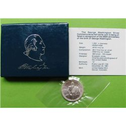 UNC 1982 Washington Half Dollar Comm.