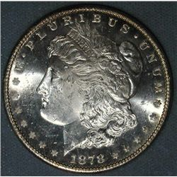 1878 p BU Morgan Silver Dollar