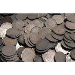 Lot of (100) V Nickels - Circulated