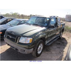 2001 - FORD EXPLORER SPORT TRAC