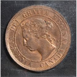 1895 Cent, ICCS MS-64; Red.