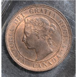 1897 Cent, ICCS MS-63; Red & Brown.