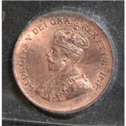1933 Cent, CCCS MS-64 Red.