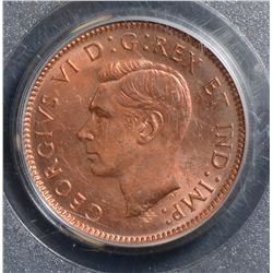 1944 Cent, PCGS MS-64 Red.