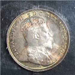 1902 5 Cents, ICCS MS-65 Small H, flashy toning. A true GEM!