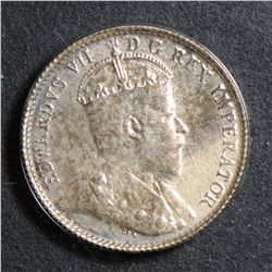 1904 5 Cents, ACG MS-61. Worth checking.
