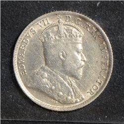 1905 5 Cents, CCCS VF-30; Reengraved 5.