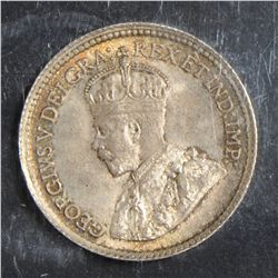 1918 5 Cents, ICCS MS-65, lightly toned. Nice.