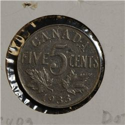 1933, 1944, 1951 Comm., 1962, 1967, 1979, 1994, 1904P, 2006 & 2007 logo 5 Cents, Circ to Uncirculate