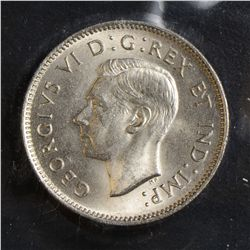 1939, 1940 & 1941 5 Cents, all ICCS MS-64. Lot of 3 coins.