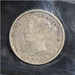 1880H Obverse 1 & 1881H Obverse 2, both ICCS VF-20. Lot of 2 coins.