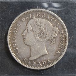 1894 10 Cents, ICCS VF-20 Obverse 5.